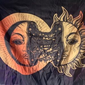 Small Sun and Moon Tapestry
